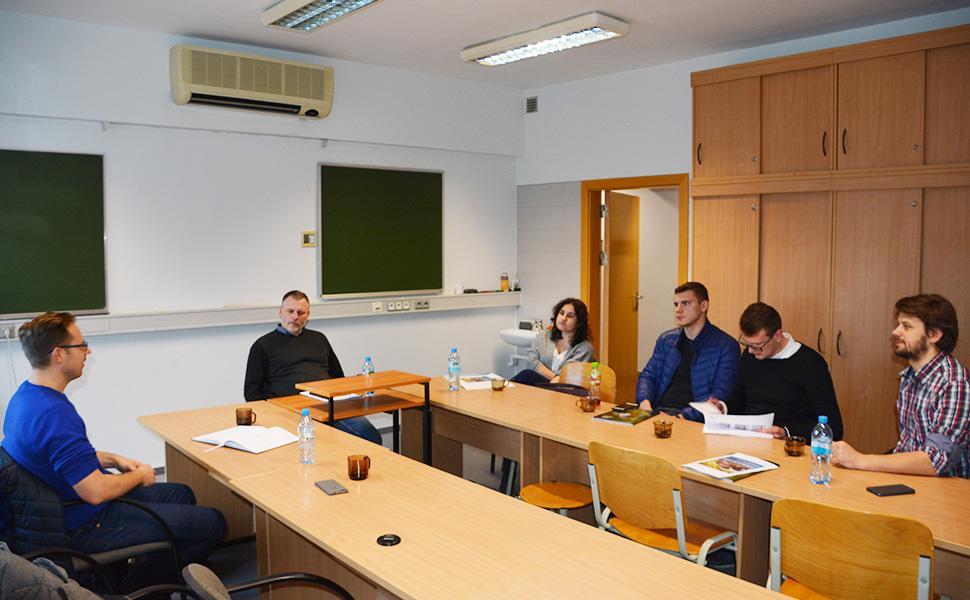 Spotkanie Ornitologa ze studentami Inżynierii Środowiska